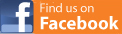 Follow us on Facebook - orange